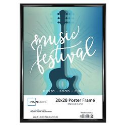 Mainstays 20x28 Rounded Black Poster Frame