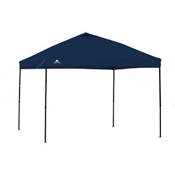 Outdoor Canopy Shade Heavy Duty Steel Frame 10and039 X 10and039 Instant Tailgate Blue