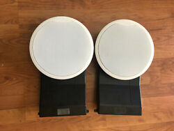 Bose Virtually Invisible 191 In Wall In Ceiling Speakers 1 Pair Used Working