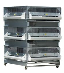 New Gqf 0703 Poultry Brooder + 2 Expanded Grow Pens Made In Usa Chicken Business
