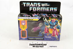 Squeezeplay Sealed Misb Headmasters 1988 Vintage Hasbro G1 Transformers