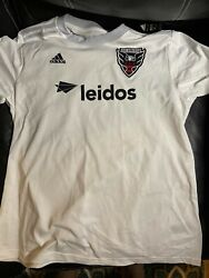 Dc United Adidas Soccer Mls Jersey Womens Size Xl New