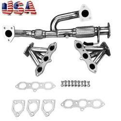 Exhaust Manifold W/gasket For Eh-072 98-02 Accord 3.0 V6/99-03 Tl/cl J30a1