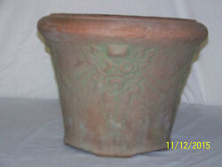 Huge Antique Peters And Reed Moss Aztec Art Pottery Arts And Crafts Planter