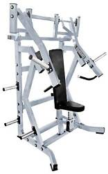 French Fitness Napa P/l Iso-lateral Incline Chest Press New
