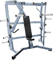 French Fitness Napa P/l Iso-lateral Wide Chest New