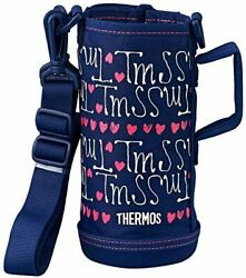 Thermos Replacement Parts 2way Water Bottle For Fho-801wf Handy Pouch Navy Heart