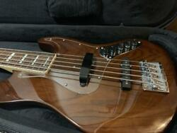 History Fujigen 5 String Bass Lh-bj5a / R Wal Limited With Soft Case Used