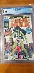Savage She-hulk 1 Cgc 9.6 1st Appearance And Origin Newsstand Edition