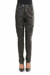 Moschino Military Couture Woman's Black Trousers