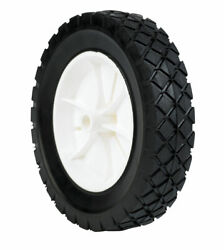 Arnold 1.75 In. W X 8 In. Dia. Plastic Lawn Mower Replacement Wheel 5 -case Of 6