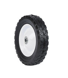 Arnold 1.75 In. W X 8 In. Dia. Steel Lawn Mower Replacement Wheel 60 -case Of 6
