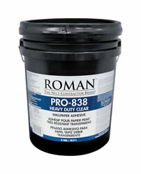 Roman Pro-838 Heavy Duty Clear High Strength Modified Starches Wallp -case Of 36