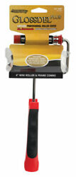 Arroworthy Glossdel Plus 4 In. W Jumbo Mini Paint Roller Frame And Co -pack Of 1