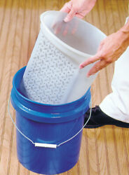 Encore White 5 Gal. Plastic Paint Pail Liner With Roller Grid -case Of 20