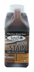 Saman Semi-transparent Antique Walnut Water-based Wood Stain 32 Oz. -pack Of 1