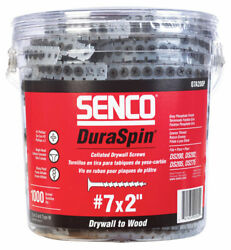 Senco Duraspin No. 7 X 2 In. L Phillips Collated Drywall Screws 1000 -case Of 6