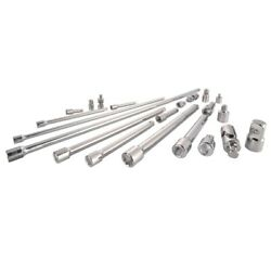 Craftsman 1/4 3/8 And 1/2 Socket Accessory Set 21 Pc. -case Of 4