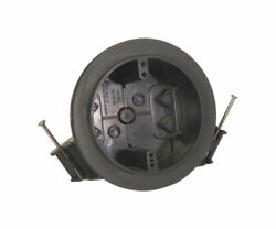 Cantex 3 In. Round Pvc 1 Gang Junction Box Gray -case Of 48
