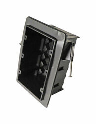 Cantex 3-1/4 In. Rectangle Pvc 3 Gang Junction Box Gray -case Of 24
