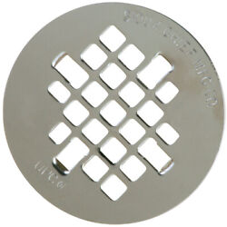 Sioux Chief 4-14 In. Chrome Stainless Steel Shower Drain Strainer -case Of 10