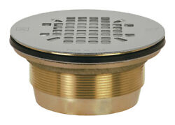 Sioux Chief 2 In. Dia. Brass Shower Drain -pack Of 1