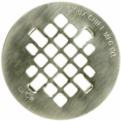 Sioux Chief 4-1/4 In. Satin Stainless Steel Shower Drain Strainer -pack Of 1