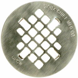 Sioux Chief 4-1/4 In. Satin Stainless Steel Shower Drain Strainer -case Of 6