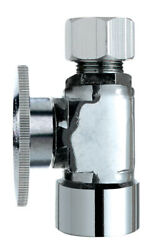 Keeney Fip Compression Brass Straight Stop Valve -case Of 24