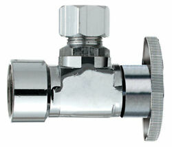 Keeney Fip Compression Brass Angle Stop Valve -case Of 24