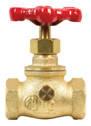 Bk Products Proline 1/2 In. Fip X 1/2 In. Fip Brass Stop And Waste V -case Of 20
