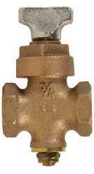 Bk Products Proline 3/4 In. Fip X 3/4 In. Fip Brass Ground Key Stop And -case Of 6