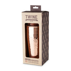 Twine 25 Oz. Copper Cocktail Shaker -case Of 24