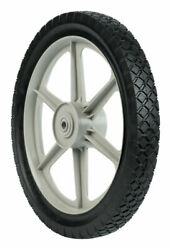 Arnold 1.75 In. W X 14 In. Dia. Plastic Lawn Mower Replacement Wheel -case Of 6