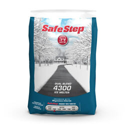 Safe Step Dual Blend 4300 Sodium Chloride And Magnesium Chloride Gr -case Of 120