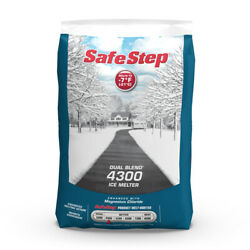 Safe Step Dual Blend 4300 Sodium Chloride And Magnesium Chloride Gra -case Of 49
