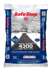 Safe Step Dual Blend Blue 4300 Sodium Chloride And Magnesium Chlorid -case Of 49