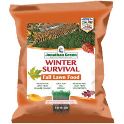 Jonathan Green Winter Survival All-purpose 10-0-20 Lawn Food 5000 Sq. -pack Of 1