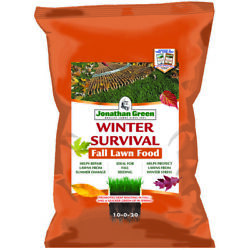 Jonathan Green Winter Survival All-purpose 10-0-20 Lawn Food 15000 Sq -pack Of 1