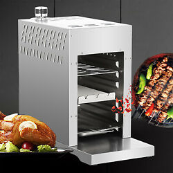 3500w Bbq Grills Portable Steak Broiler Griddle Outdoor Camping Rv Traveling Us