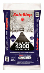 Safe Step Dual Blend Blue 4300 Sodium Chloride And Magnesium Chlori -case Of 100