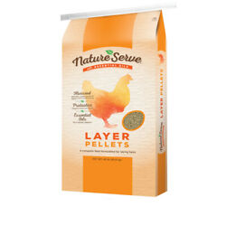 Natureserve Layer Feed Pellets For Poultry 40 Lb. -case Of 50