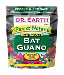 Dr. Earth Pure And Natural Organic Bat Guano 1.5 Lb. -case Of 12