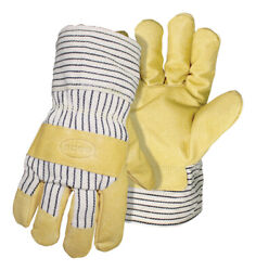 Boss Menand039s Indoor/outdoor Cold Weather Gloves Tan Xl 1 Pair -case Of 72