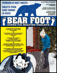 Bearfoot Sodium Chloride And Calcium Chloride Tablet Ice Melt 25 Lb -case Of 100