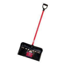 Bully Tools 22 In. W X 55 In. L Poly Snow Shovel -case Of 36