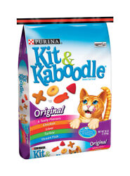 Purina Kit And Kaboodle Original Blend Of Great Flavors Dry Cat Food 1 -case Of 55