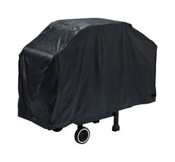 Grill Mark Black Grill Cover For Many Gas Barbecue Grills 56 In. W X -pack Of 1