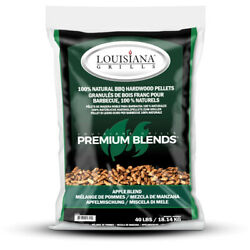 Lousiana Grill All Natural Apple Wood Pellets 40 Lb. -case Of 50