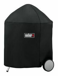 Weber Black Grill Cover For 26 Inch Weber Charcoal Grills 31.5 In. W -pack Of 1